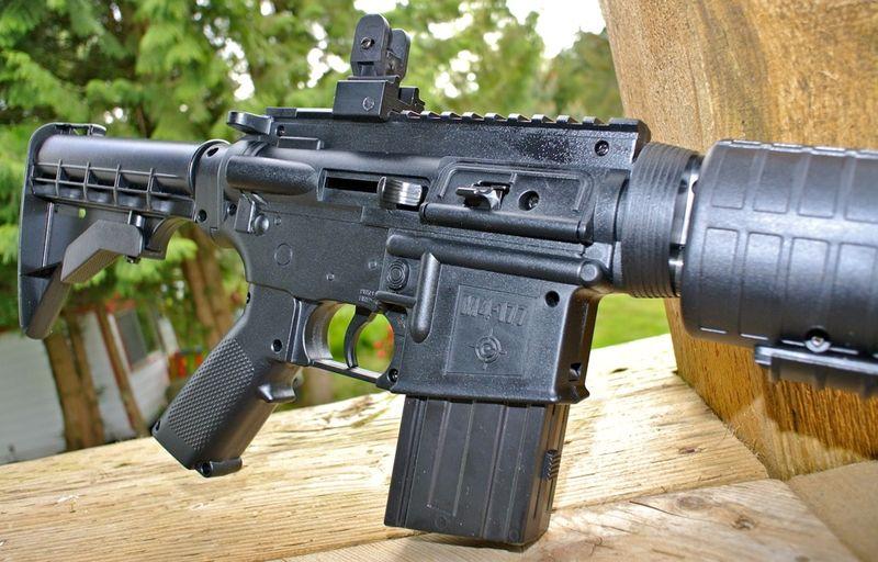 Crosman M4 177 MP Receiver Мультикомпрессионная винтовка Crosman M4 177
