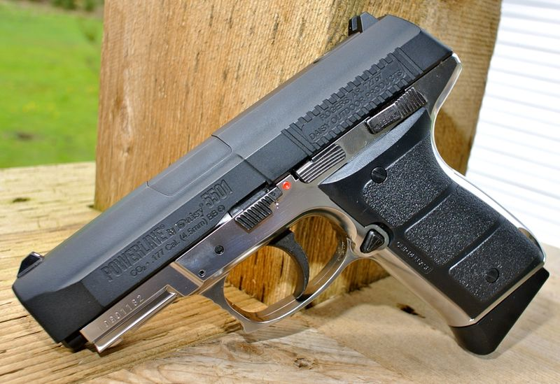 Daisy Powerline 5501 Left Side Пневматический пистолет Daisy Powerline 5501