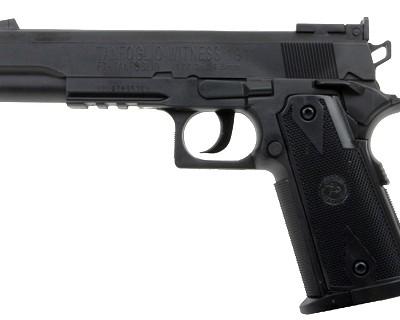 PC35800 1558zm 400x320 Tanfoglio Witness 1911 CO2 BB Pistol, Black Grips