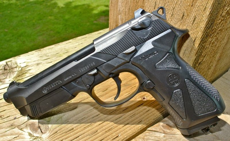 Umarex Beretta 90two Left Side Пневматический пистолет Umarex Beretta 90TWO