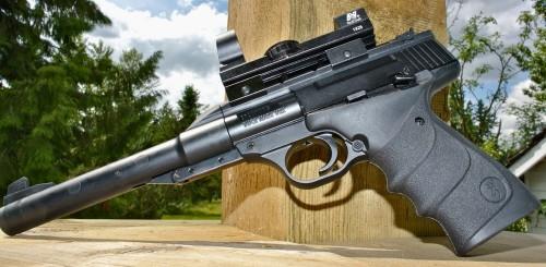 Umarex Browning Buck Mark URX Left Side Пневматический пистолет Umarex Browning Buck Mark URX