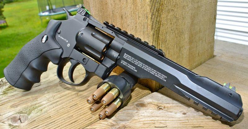 Umarex SW 327 TRR8 Right Side Пневматический пистолет Umarex Smith&Wesson 327 TRR8