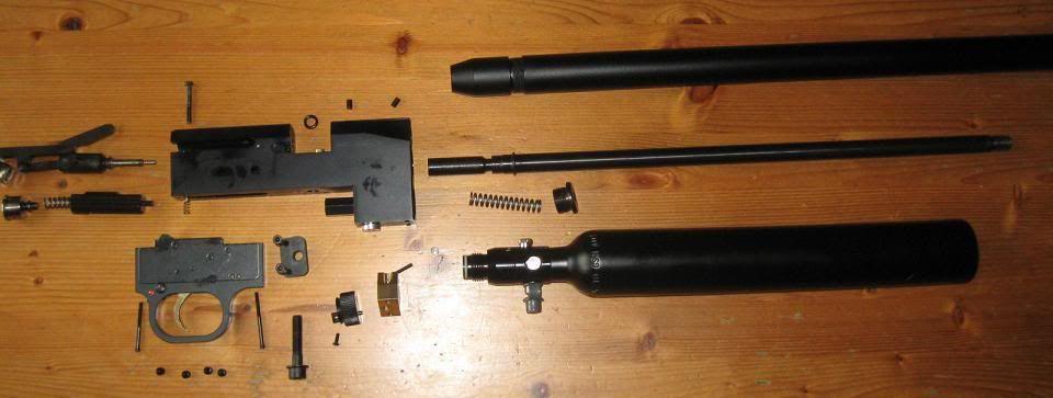 102 PCP винтовка Cometa Lynx V10