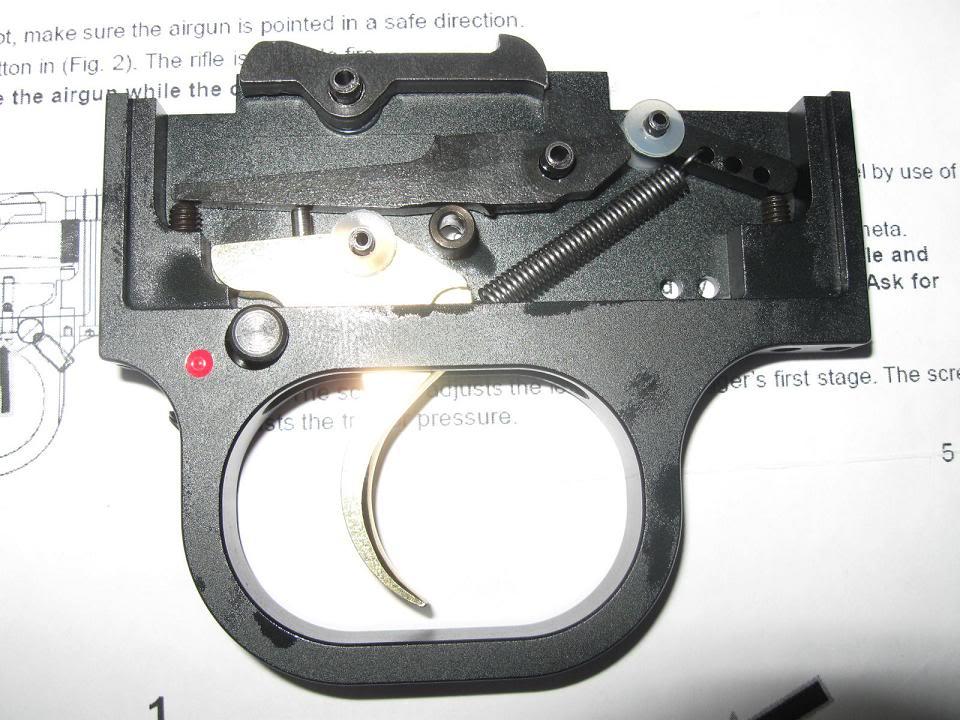 108 PCP винтовка Cometa Lynx V10