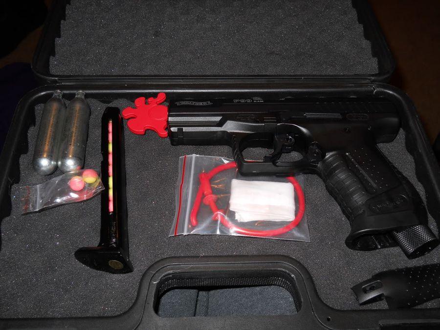 DSCN8312 1 Пейнтбольный пистолет RAP4 RAM WALTHER P99