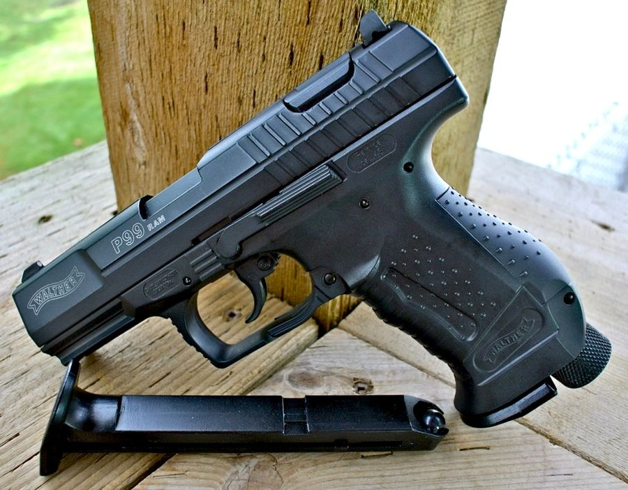 RAM P99 .43 Cal Blowback Paintball Pistol Left 1 Пейнтбольный пистолет RAP4 RAM WALTHER P99