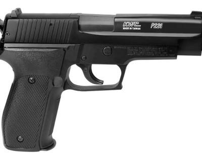 Sig Sauer P226 Spring Metal Slide CG28114 airsoft zm11 400x320 SIG Sauer P226 Spring Airsoft Pistol, Metal Slide