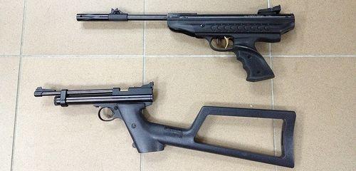 7513240024 02ae3d5d2d Большой и мощный пневматический пистолет Hatsan 25 Supercharger