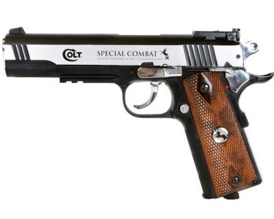 Colt Special Combat Pstol Colt 2254025 zm 400x320 Пневматический пистолет Colt 1911 Special Combat Classic BB