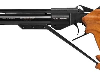 IZH 46M Match Pistol IZH46M pistol zm 400x302 Пневматический пистолет ИЖ 46 М
