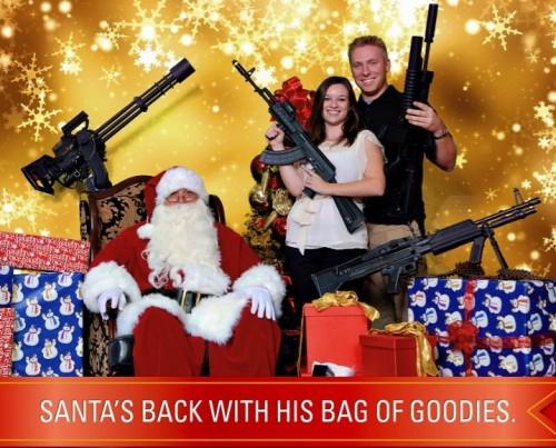 Santa Flier 500x403 Новогодние подарки для любителей пневматического оружия