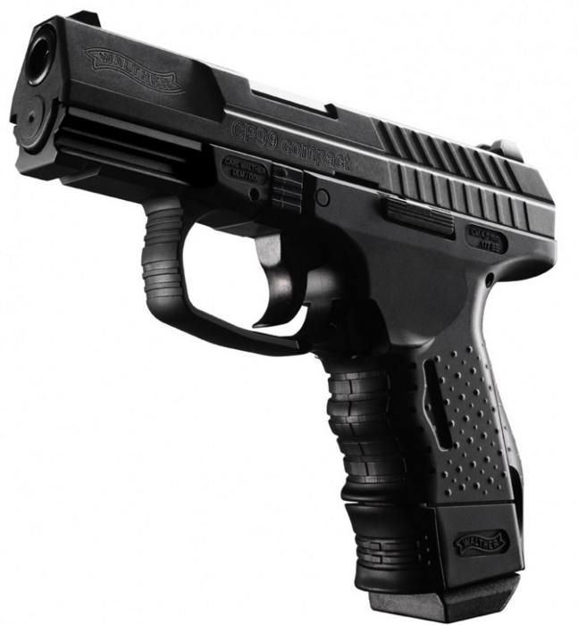 Walther CP 99 Compact Co2 Несколько слов о пневматическом пистолете Umarex Walther CP99