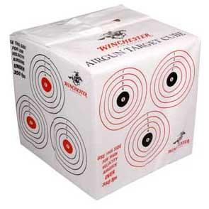 Winchester pellet and BB target cube Новогодние подарки для любителей пневматического оружия
