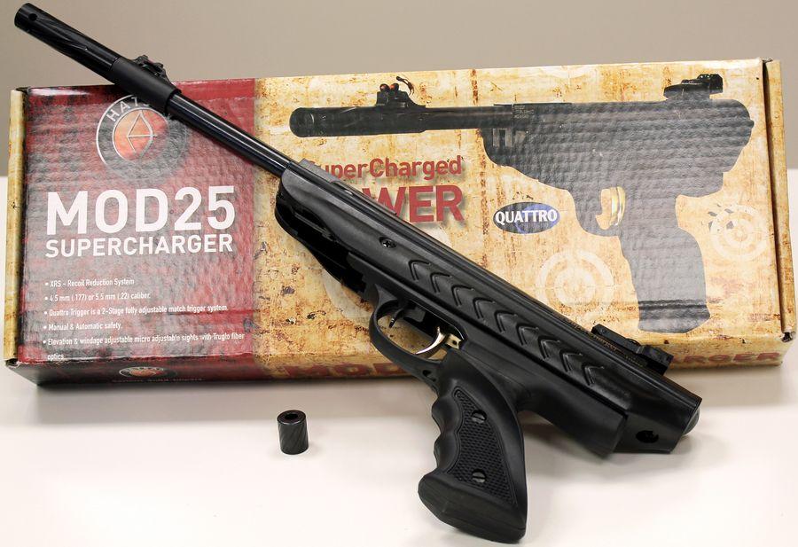 hatsan mod 25 supercharger 2737 Большой и мощный пневматический пистолет Hatsan 25 Supercharger