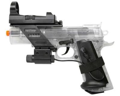 Colt Combat Commander Spring Pistol CG18356 airsoft zm 400x320 Пистолет Colt Combat Commander Spring Airsoft