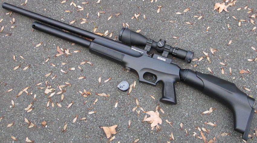 Gladiator MkII 001 PCP винтовка FX Gladiator Mk II. Внешний вид