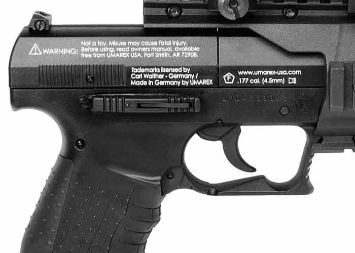 Walther NightHawk 2 Точный и реалистичный пневматический пистолет Walther NightHawk
