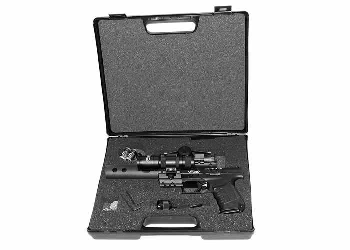 Walther NightHawk 3 Точный и реалистичный пневматический пистолет Walther NightHawk