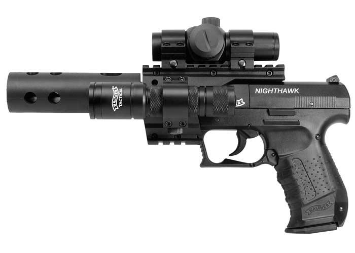 Walther Nighthawk Точный и реалистичный пневматический пистолет Walther NightHawk