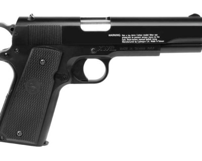 Colt 1911 A1 Black CG18116 airsoft zm1 400x320 Пистолет Colt M1911A1 Spring Airsoft Pistol, Black