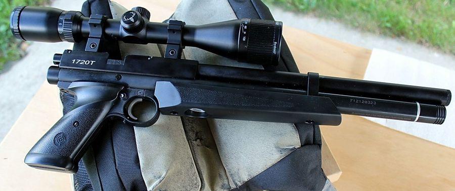 Crosman 1720T 6 Пистолет для филд таргета Crosman 1720T калибра 4.5 мм