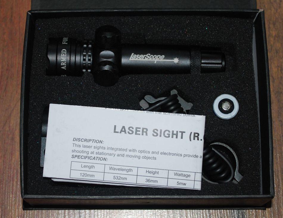 LTSU 2 Дешевый лазерный целеуказатель для пневматики