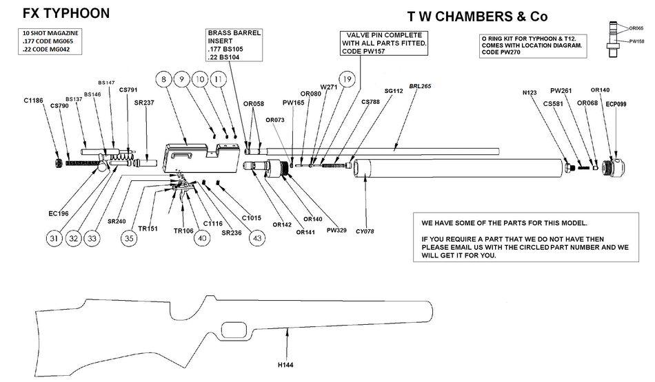 24848 PCP винтовка FX T12 FT   Красота и точность