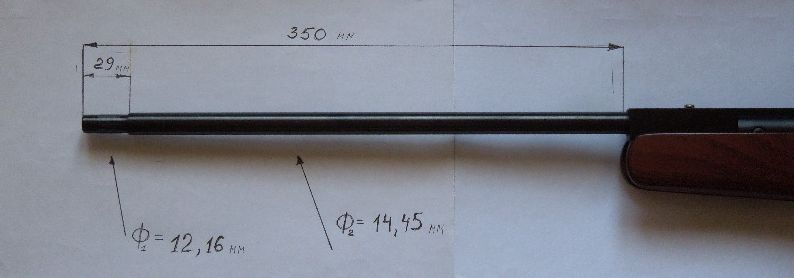 DSCN0146 Обзор пневматической винтовки   Beeman RS1/RS2 Caliber BN 1072 air rifle