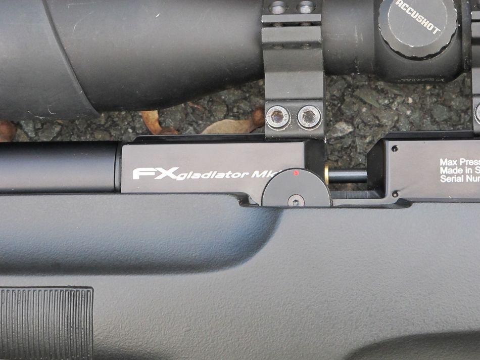 FX Airguns Gladiator Tactical 01 PCP винтовка FX Airguns Gladiator Tactical   180 выстрелов 40 Дж с одной заправки