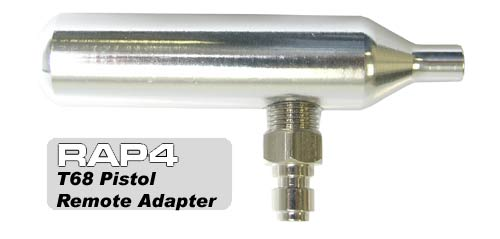 T68 Paintball Pistol Remote Adapter2 Адаптер для баллончиков 12 гр CO2