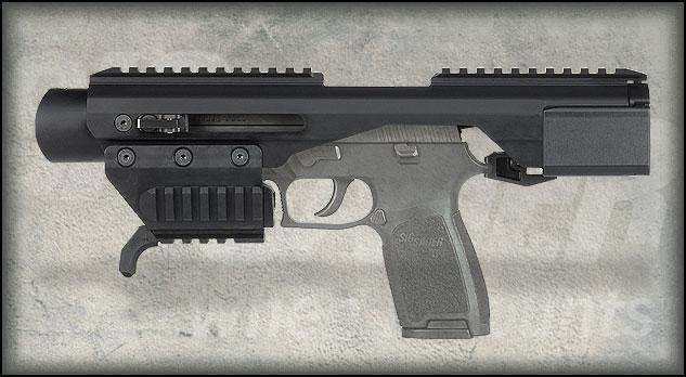 ACP Basic detail hero Пистолетный тактический обвес SIG ACP