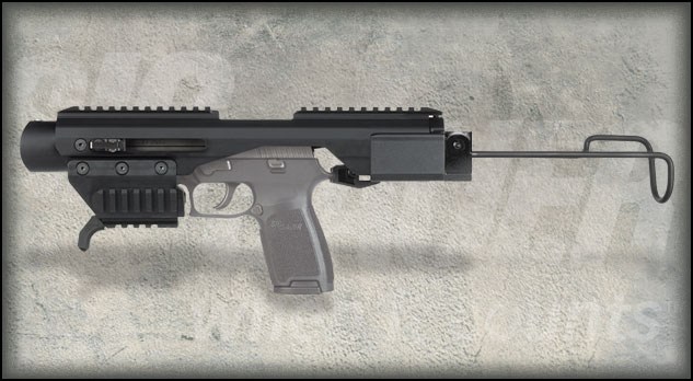 ACP LE detail hero Пистолетный тактический обвес SIG ACP