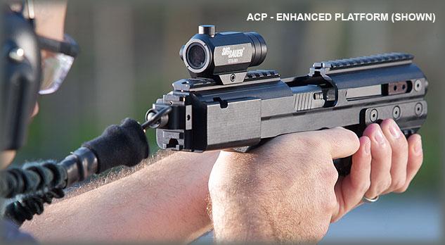 ACP Lifestyle3 detail Пистолетный тактический обвес SIG ACP