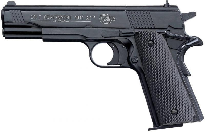 COLT GOVERNMENT 1911 A1 Мой выбор пневматического пистолета Umarex для пулевой стрельбы