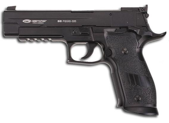 Gletcher SS P226 S5 Покупаем пневматический пистолет