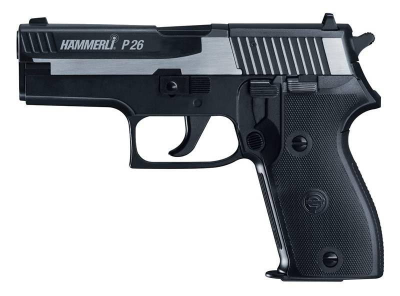 HAMMERLI P26 Мой выбор пневматического пистолета Umarex для пулевой стрельбы