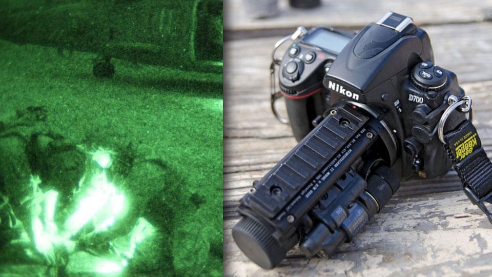 Nightstalker II night vision systems Фотоаппарат с тактическим объективом ночного видения