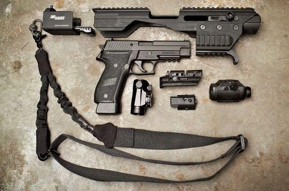 SIG ASP prewiev Пистолетный тактический обвес SIG ACP