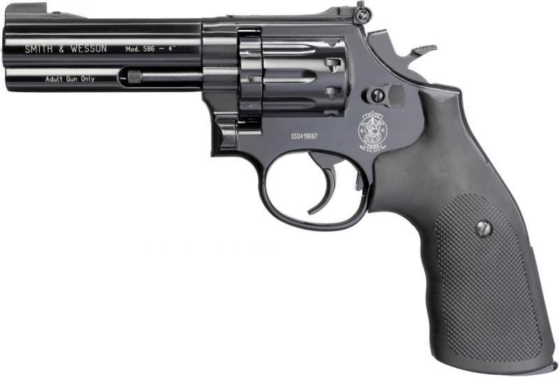 SMITH WESSON MOD 586 Мой выбор пневматического пистолета Umarex для пулевой стрельбы