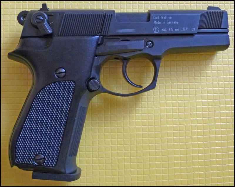 Umarex Walther CP88 01 Umarex Walther CP88   хороший выбор для целевой стрельбы