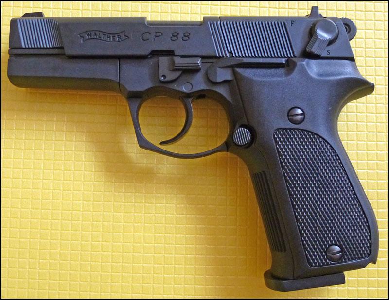 Umarex Walther CP88 02 Umarex Walther CP88   хороший выбор для целевой стрельбы