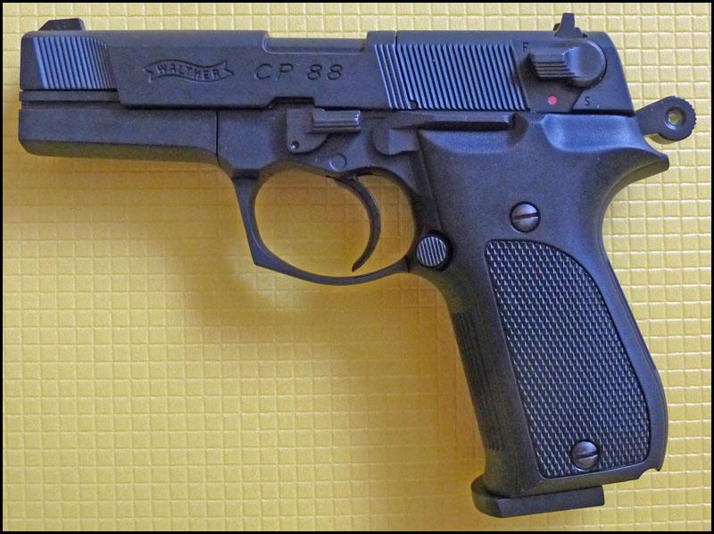 Umarex Walther CP88 03 Umarex Walther CP88   хороший выбор для целевой стрельбы
