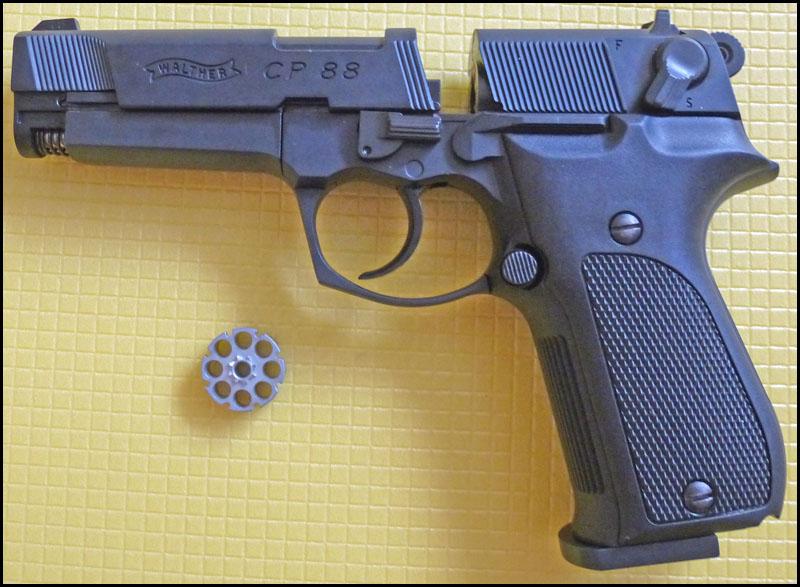 Umarex Walther CP88 05 Umarex Walther CP88   хороший выбор для целевой стрельбы