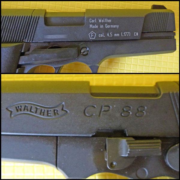 Umarex Walther CP88 09 Umarex Walther CP88   хороший выбор для целевой стрельбы