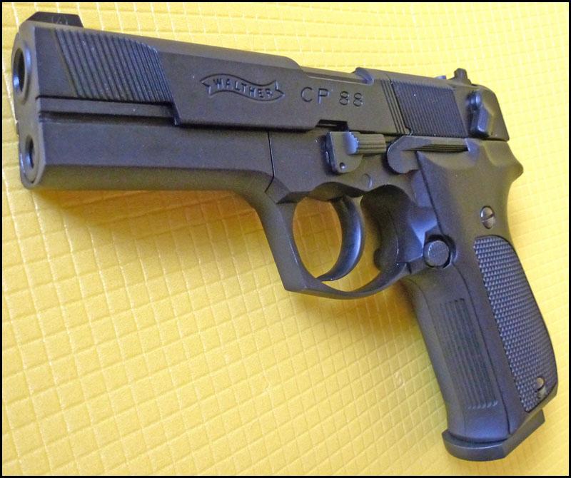 Umarex Walther CP88 15 Umarex Walther CP88   хороший выбор для целевой стрельбы