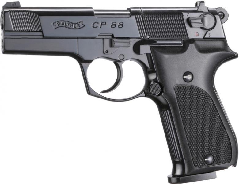WALTHER CP88 Мой выбор пневматического пистолета Umarex для пулевой стрельбы