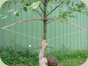 bow making instructions 5 Как сделать быстрый лук