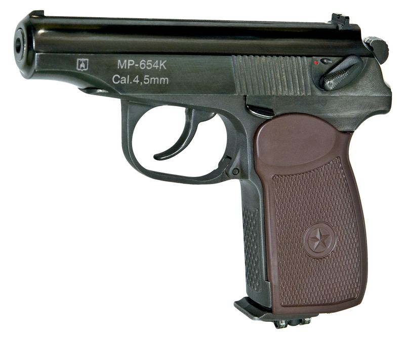 01 MR 654K Titul Вечно молодой, вечно Макаров. История пневматического пистолета ИЖ MP 654K