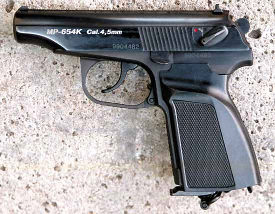 02 MR 654k 01 Вечно молодой, вечно Макаров. История пневматического пистолета ИЖ MP 654K