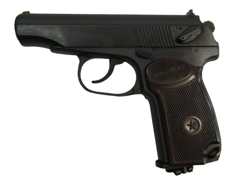 13 MR 654K 32 500 ya seriya N Вечно молодой, вечно Макаров. История пневматического пистолета ИЖ MP 654K